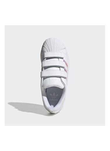 adidas Adidas Çocuk Spor Ayakkabı Superstar Cf C Fv3655 Beyaz